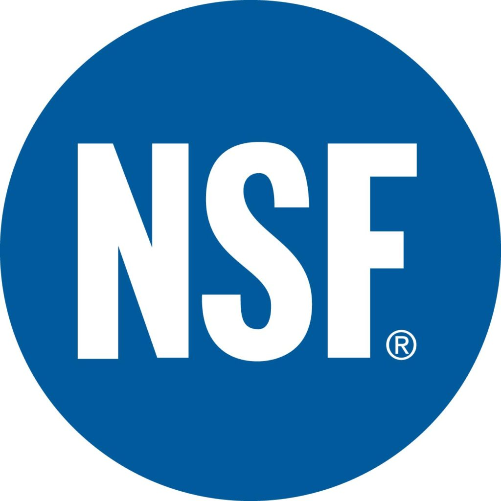 NSF cGMP Registered Facility
